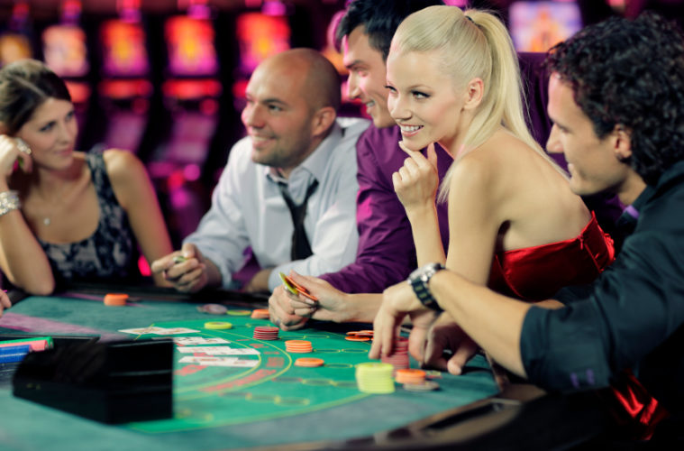 Playing casino games